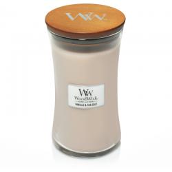 Woodwick Vanille & Sea salt
