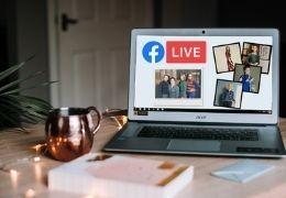 Live-uitzending op Facebook